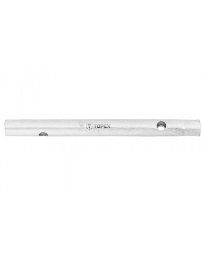 Ключ торцевой двусторонний с отверстиями 6 x 7 мм 115 мм TOPEX