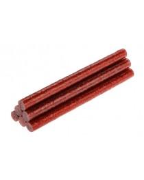 Стержни клеевые с красными блестками 8 мм x 100 мм 6 шт TOPEX