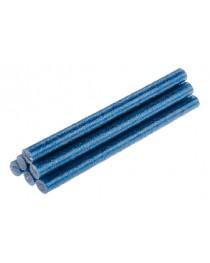 Стержни клеевые с синими блестками 8 мм x 100 мм 6 шт TOPEX